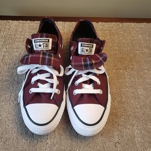 NWT Converse All Star Chuck Taylor Burgandy W 7.5